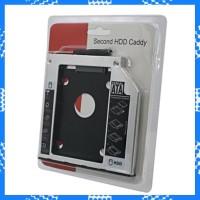 DISKON HARDDISK CADDY 9 5MM SLIM SSD SATA FOR LAPTOP NOTEBOOK HDD