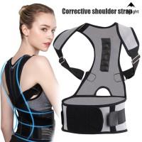 Cantik Korset Penyangga Tulang Belakang Adjustable Breathable untuk