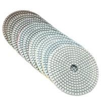 HOT SELL 5 Inch 50-6000 Grit Diamond Polishing Pad Wet Dry Sanding