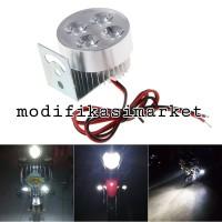 LAMPU TEMBAK MOTOR SEPEDA LISTRIK LAMPU SOROT LAMPU SPION 12V 2WATT