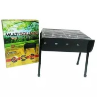 Maspion Multi Square Grill 30cm Arang Alat Panggangan Barbeque BBQ