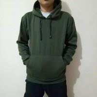 Sweater Hoodie Polos Army Size L,XL,XXL Pria Wanita