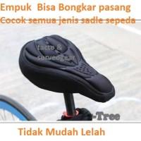 Sarung Jok Sadel Sepeda Super Empuk Sporty Silicone & Sponge