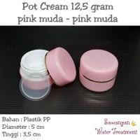 Pot Cream 12,5 gram / Pot jar 12,5 gram Pink MUDA - Pink MUDA
