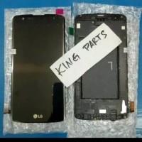 LCD TOUCHSCREEN FRAME LG K350 K8 ORIGINAL