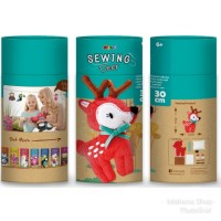 Avenir Sewing Doll Rusa Deer Mainan Kreatif Menjahit Boneka Anak