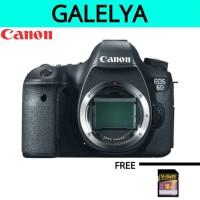 CANON EOS 6D BODY ONLY - KAMERA CANON 6D RESMI CANON DATASCRIP