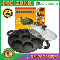 GARANSI Kaca cetakan kue 8 lubang happy call martabak mini cake pan