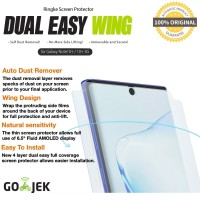 Original Ringke Dual Easy Wing Samsung Note 10 Plus Not Tempered Glass