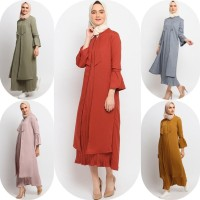 Gamis Muslim Wanita Le Najwa Luzaina Dress