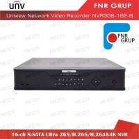 Uniview 16 Ch 8-SATA Ultra 265 H.265 H.264 4K NVR NVR308-16E-B