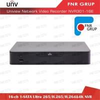 Uniview 16 Ch 1-SATA Ultra 265 H.265 H.264 4K NVR NVR301-16E