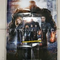 Majalah cinemags bonus poster fantastic
