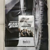 Majalah cinemags bonus poster furious 7