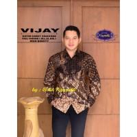 Batik Solo Kemeja Batik Panjang Vijay Rajasakti Batiksoloamanah 145.00