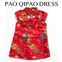 Pao Qipao / Cheongsam Anak Perempuan / Dress Imlek Sincia Anak Murah