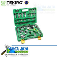 "Kunci Shock Set Tekiro 1/4 ""-1/2"" 94 Pcs 6 PT"