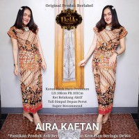 Dress Batik Murah Aira Kaftan Batiksolotuman