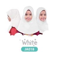 Jilbab Anak Afrakids - White Kode JA018