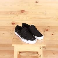 Sepatu Vans Zapato Del Barco Black White Sneakers Pria Premium