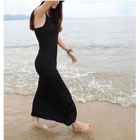 Dress Long Tanktop / Dress singlet panjang