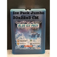 BLUE ICEPACK JUMBO 30X22X3CM KHUSUS GOJEK GRAB