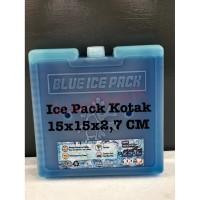BLUE ICEPACK KOTAK 15X15X2,7 CM
