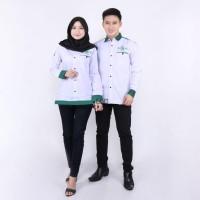 Baju Muslim Couple / Baju Hari Santri Pria Wanita / Baju Couple Nu New