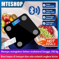 Timbangan Badan Digital - Body Fat Monitor - Smart Bluetooth Weight Sc