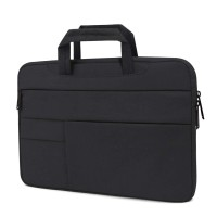 Tas Laptop 11- inch Macbook Softcase sleeve Pocket Handstrap-Black
