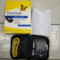 FreeStyle Optium Neo / Alat tes gula darah / Glucose