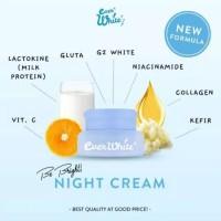 everwhite be bright night cream