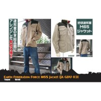 Jaket Anime Gundam - Earth Federation Force M65 (JA GDU 03)