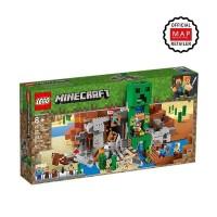 Minecraft 21155 The Creeper Mine Mainan Blok