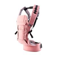 Hipseat Baby Carrier 9+ Gendongan Bayi Pink