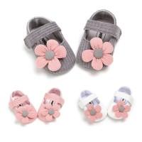 babygwen sepatu prewalker bayi perempuan bunga - 0-6 Bulan, Putih