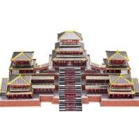 3D Metal Puzzle Piececool Istana Afang / Epang Palace
