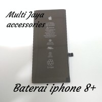 baterai Original 100 %Iphone 8+/battrey