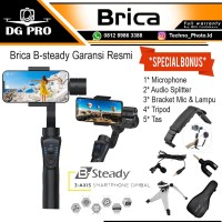 Brica B-Steady Bsteady 3-Axis Gimbal Stabilizer (moza,zhiyun,mobile 2)