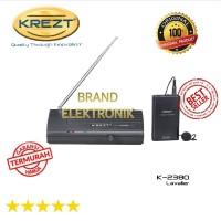 KREZT 2380 L Lavalier Single Wireless microphone clip-on BRA SSfx9010