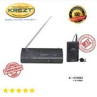 KREZT 2380 L Lavalier Single Wireless microphone clip g on SSfx9003