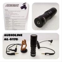 Microphone kondenser mic kabel clip on untuk rekaman AUDIOLI SSfx9277