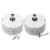 Terbaru DC 12 V 24 V 400 W Generator Magnet Permanen Turbin Angin