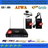Audio Microphone Mic N Aiwa Uhf 358 Clip On SSfx7485