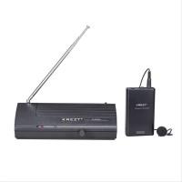 Mic jepit wireless microphone KREZT K 2380 CLIP ON Profesion SSfx9378
