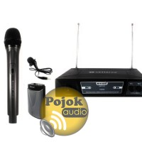 Microphone Wireless 255 HL N Aiwa Handheld dan clip on SSfx8967