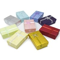 Gift Box Kotak Kado Cincin Perhiasan Accesories Kardus (uk.5x8x3cm)