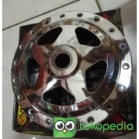 ELS - TROMOL BELAKANG VND CHROME MODEL DRAG NEW STAR XEON MIO VARIO