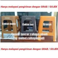 Bangku Baso Kursi Bakso Anyaman Rotan Plastik Napolly 3R3 (by Gojek)