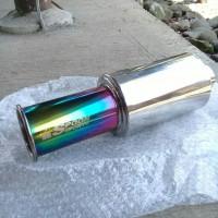 Knalpot Mobil Baby Spoon Pelangi Rainbow